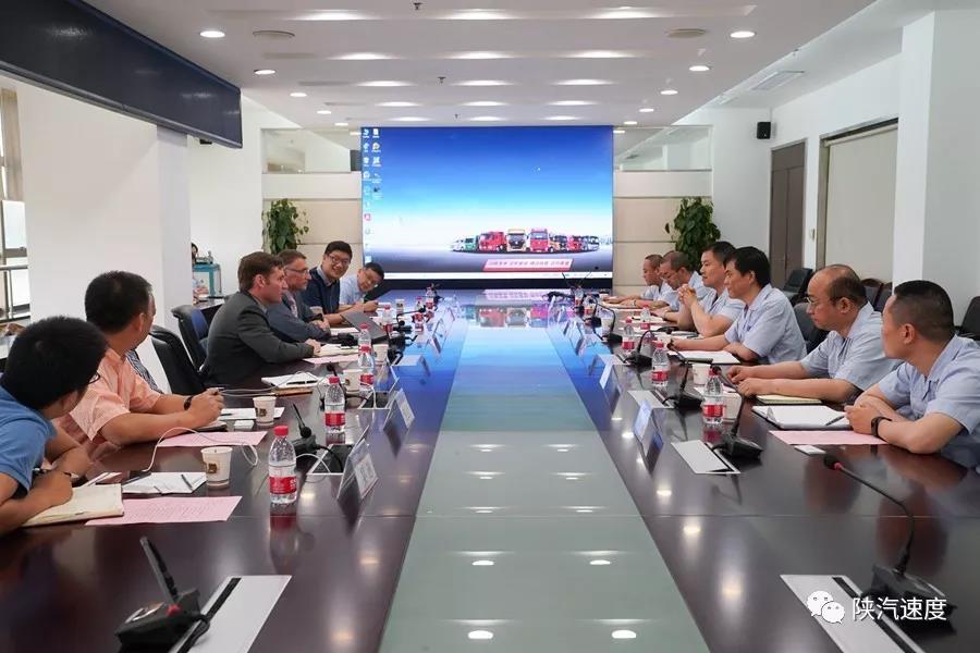 问需求 促合作 | PPG客人到访陕汽